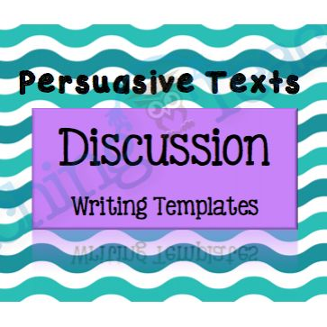 Discussion Writing Template