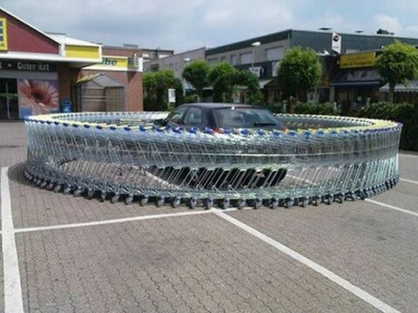 Parking problems and instant karma – 30 Funny Pictures