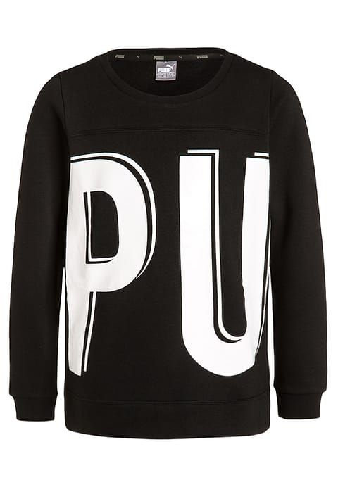 Puma STYLE - Sweatshirt - black Kids Jumpers,shoes puma,latest fashion-trends,Puma Store Of Uk - Puma Online With Clearance Price