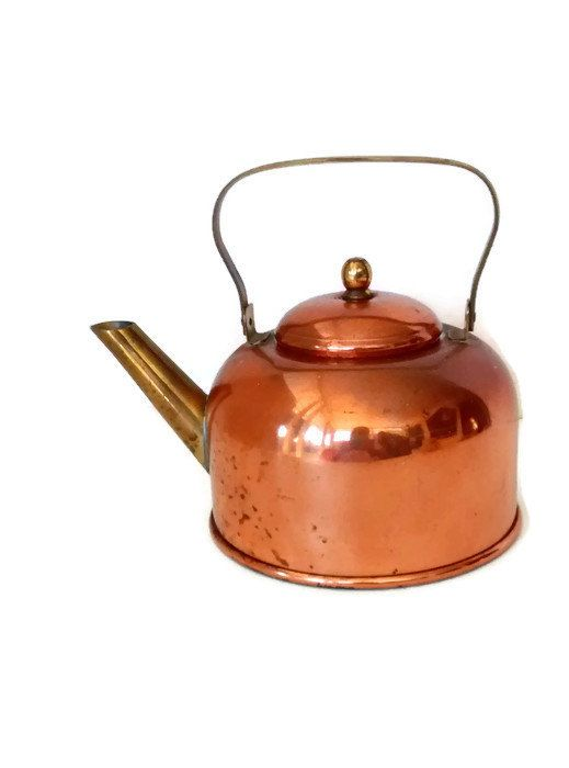 Coppercraft Guild Copper Tea Kettle Small by WeeLambieVintage
