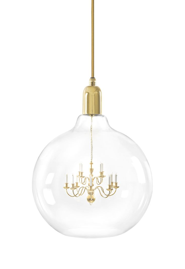 331 best chandeliers on the web images on pinterest light a miniature chandelier and a large edison light bulb create minehearts gold king edison grande pendant lamp a larger than life lamp is the perfect arubaitofo Choice Image