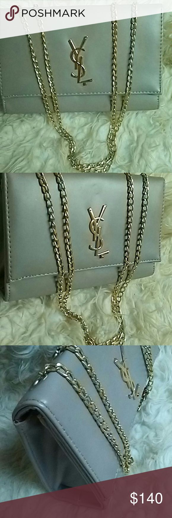 Flash sale Ysl bag 9/10 condition leather fashion bag gold hardware.. Open to all offers Yves Saint Laurent Bags