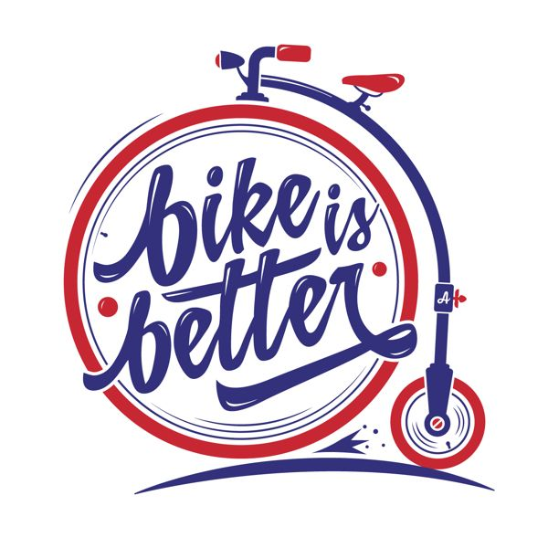 BIKE IS BETTER. Personal Brand. by Abel Costantino, via Behance