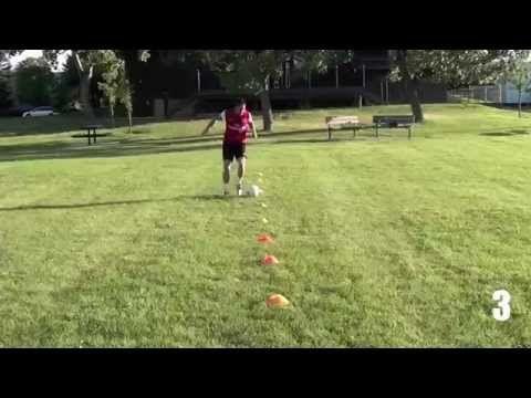 11 Soccer Drills To Improve Soccer Dribbling Skills - Soccer Dribbling D...