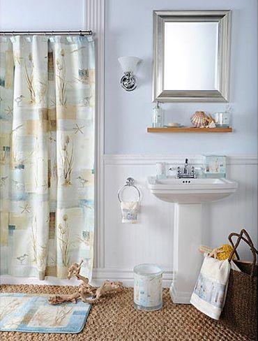 Guest Bathroom Ideas · Beach Themed ...