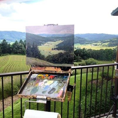 Plein air painting locations in Oregon - Michael Orwick
