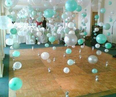 Burbujas en pista