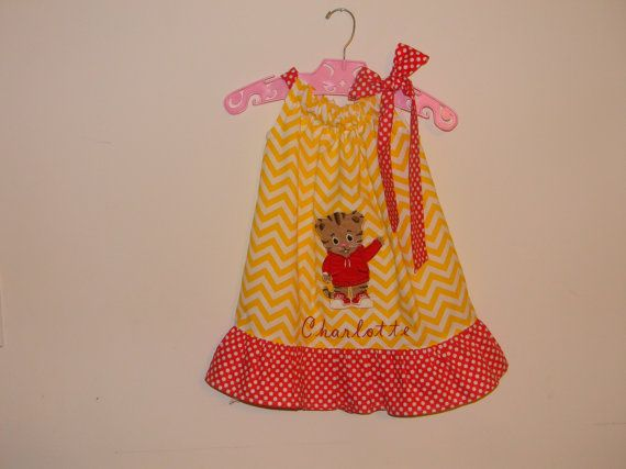 Hey, I found this really awesome Etsy listing at https://www.etsy.com/listing/181510794/toddler-pillowcase-dress-with-daniel