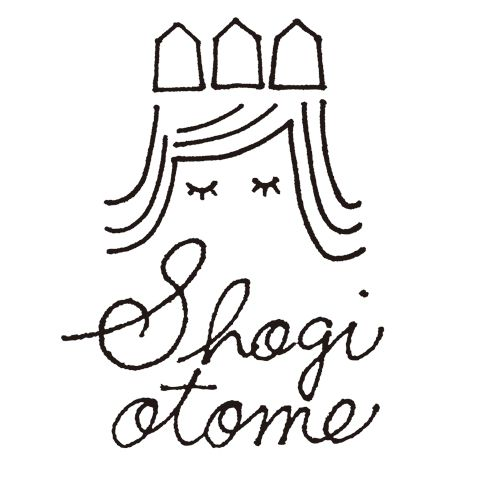 shogiotome|乙女のための将棋レッスン ロゴデザイン
