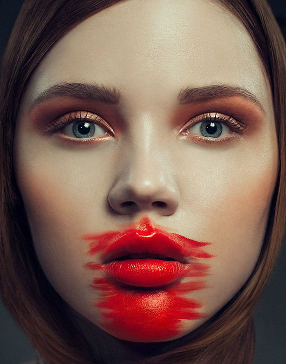 The Little Red Beauty Story Embraces Crimson-Colored Cosmetics #makeup #beauty trendhunter.com