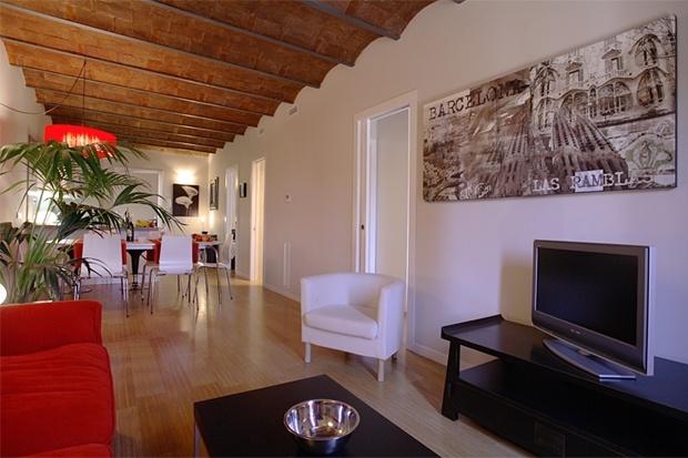 Ideal für einen Kurzurlaub in Barcelona.12 Ferienwohnungen im Haus im Zentrum von Barcelona.