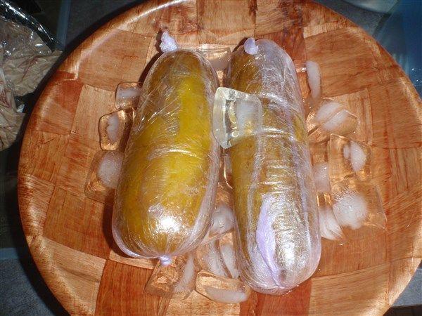 Terrine de foie gras - cuisson vapeur et congélation pour au moins 7j