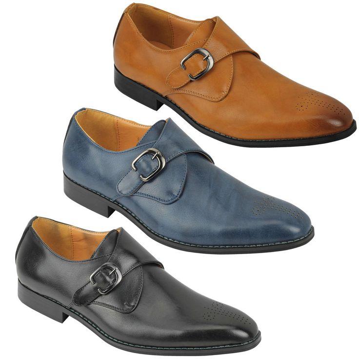 Mens Black Tace Shoes