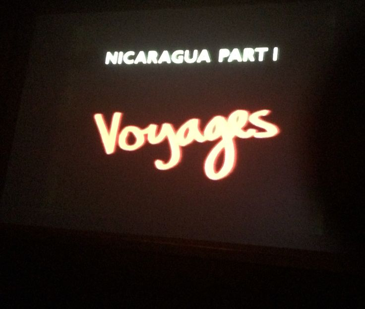 The first film in Marc Karlin's four-part series on the Nicaraguan revolution that brought down President Somoza's regime in 1979, Voyages is composed of five tracking shots, gliding over blown-up photographs that Susan Meiselas took during the insurrection. The film takes the form of an imagined correspondence, which interrogates the responsibilities of the war photographer, the line between observer and participant, and the political significance of the photographic image.