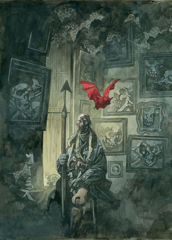 Mike Mignola art