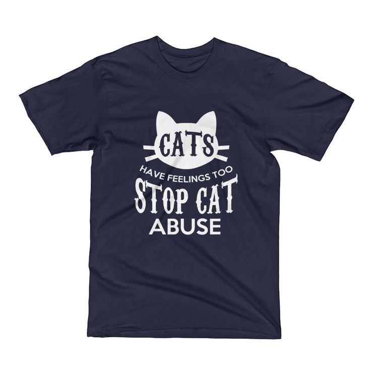 Stop Cat Abuse Short Sleeve T-Shirt