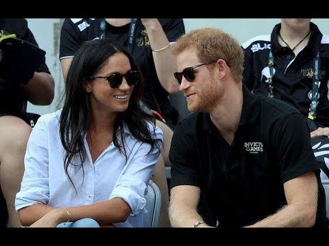 Prince Harry & Meghan Markle at the Invictus Games in Toronto (first pub...