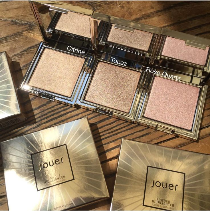 ⚡️FIRST LOOK⚡️ Jouer Cosmetics NEW Highlighters✨ Available September 8th!! They look a lot like Kathleenlights Makeup Geek Highlights, hopefully swatches for comparison soon.