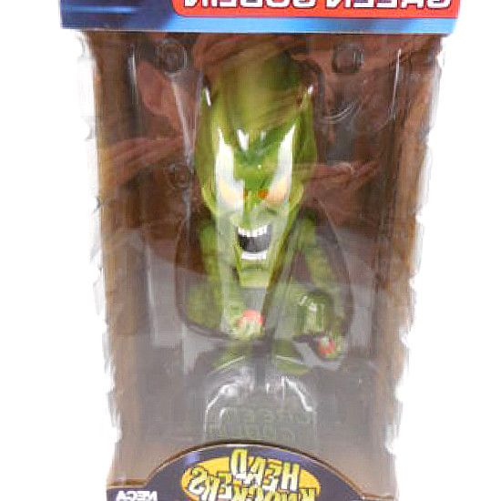 Funko Marvel Comic Spiderman Green Goblin Bobble Head Figure. EUR 22.70; Free. NECA Green Goblin Head Knockers Bobble Head Figure New in Box. NECA Head Knockers SpiderMan Movie Green Goblin by Halo $24.99. Only 1 left in stock. Marvel 4 Inch Vinyl Bobble Head Figure - Spider Man. Back. Funko POP Marvel Spider-Man Homecoming Spider-Man New Suit Action Figure. #hero #comics #DCComics #DC #Marvel #figurines #Collectibles #gifts #collect