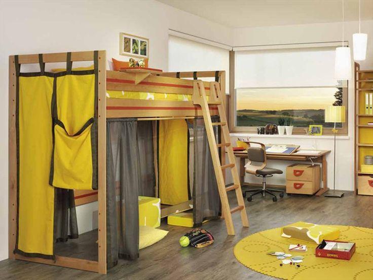 Beautiful Wooden kids u bedroom for boys SAFARI TEAM Nat rlich Wohnen