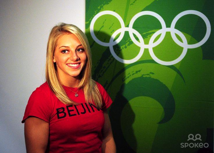 Samantha Peszek   Samantha Peszek in attendance during the gymnastics apparatus finals ...