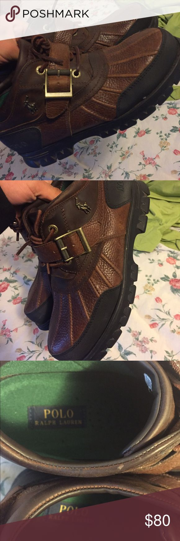 Polo boots men size 8 Size 8 Polo by Ralph Lauren Shoes