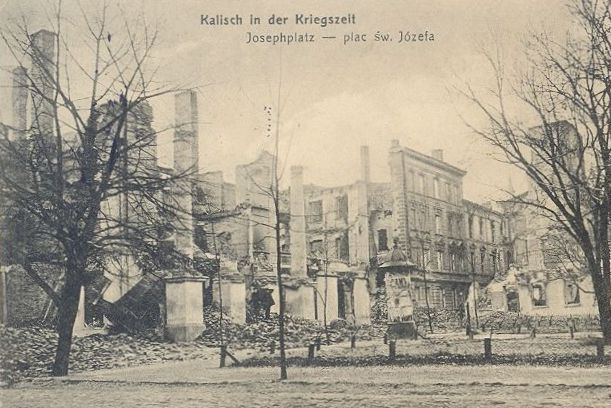 Destruction of Kalisz The event is also known as Pogrom of Kalisz or Poland's Louvain.