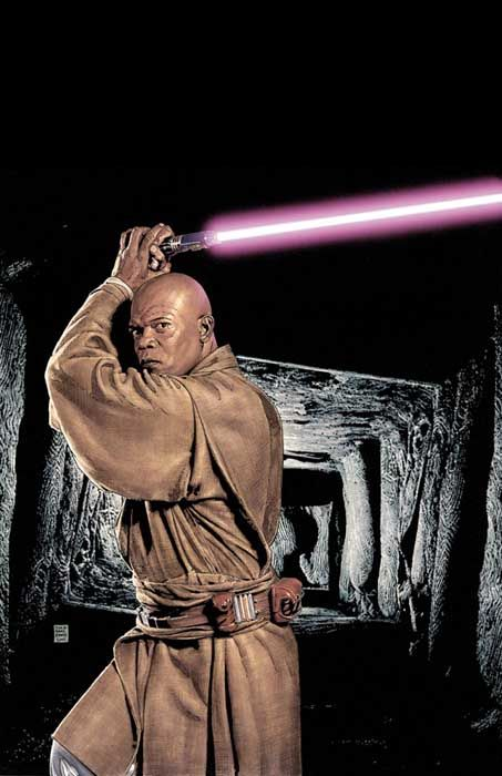 Mace Windu by Tim Bradstreet