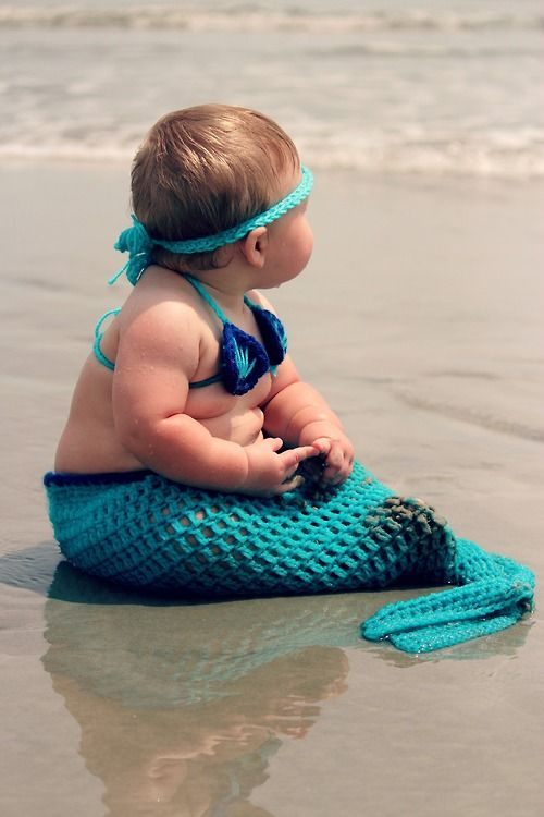 Stfu. Chunky baby mermaid. This is adorable.