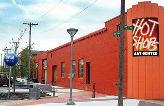 The Hot Shops Art Center Near the Omaha Old Market