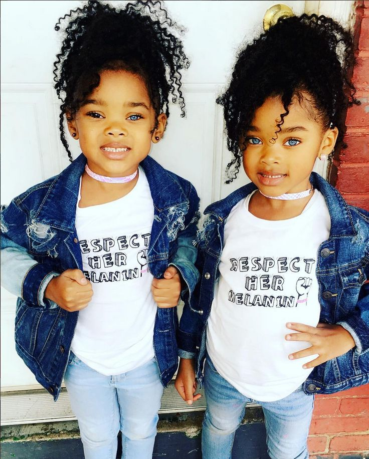 Black teen twins could