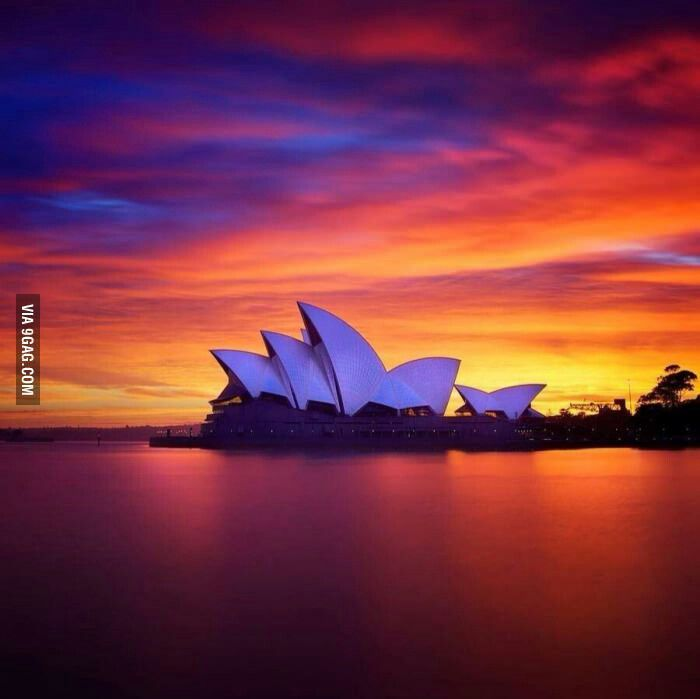 Australia and an Opera (doesn't have to be same place)