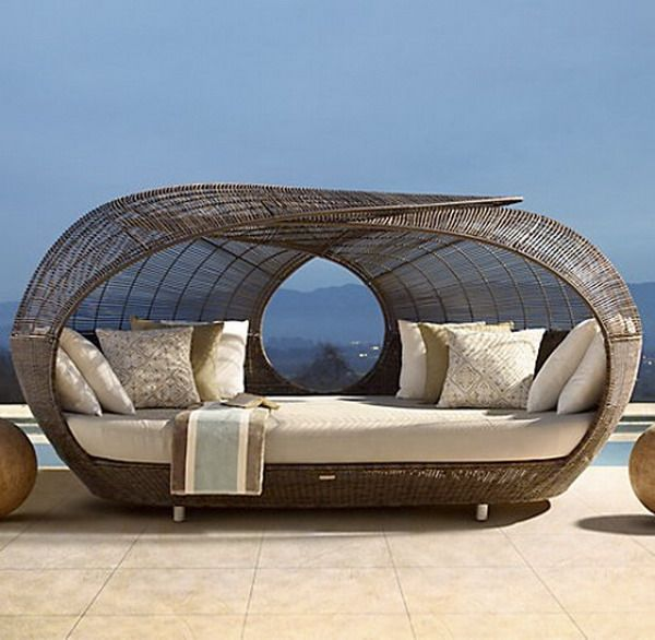 Lovely Spartan Daybed By Neoteric Luxury   Contemporary   Patio Furniture And Outdoor  Furniture   Restoration Hardware Good Looking