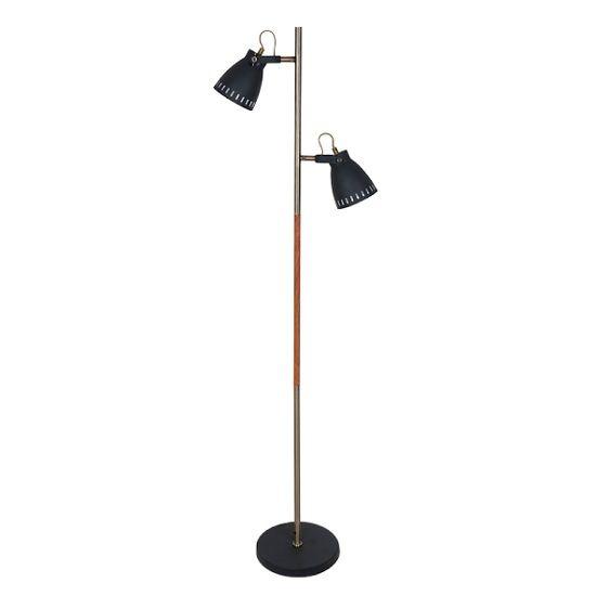 Ψάχνετε κάτι ιδιαίτερο για το χώρο σας; Το έχουμε! #Φωτιστικό #δαπέδου που συνδυάζει μέταλλο κ ξύλο. Το χρώμα του μετάλλου στον κορμό δίνει την αίσθηση της αντίκας και το μαύρο στα καπέλα του σε συνδυασμό με το ξύλο είναι η #μοντέρνα πινελιά που χρειάζεστε. Βρείτε το: http://kourtakis-lighting.gr/fotistika-floorlights-metal-wood-crystal-fotistika-indoor-diakosmisi/3993-monterno-fotistiko-dapedou-ksylo-metallo-60watt-e27-888076.html