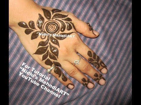 nice Bold and Thick Dubai Style Henna Mehndi Design Tutorial by http://www.dezdemon-fashion-trends.xyz/latest-fashion-trends/bold-and-thick-dubai-style-henna-mehndi-design-tutorial/