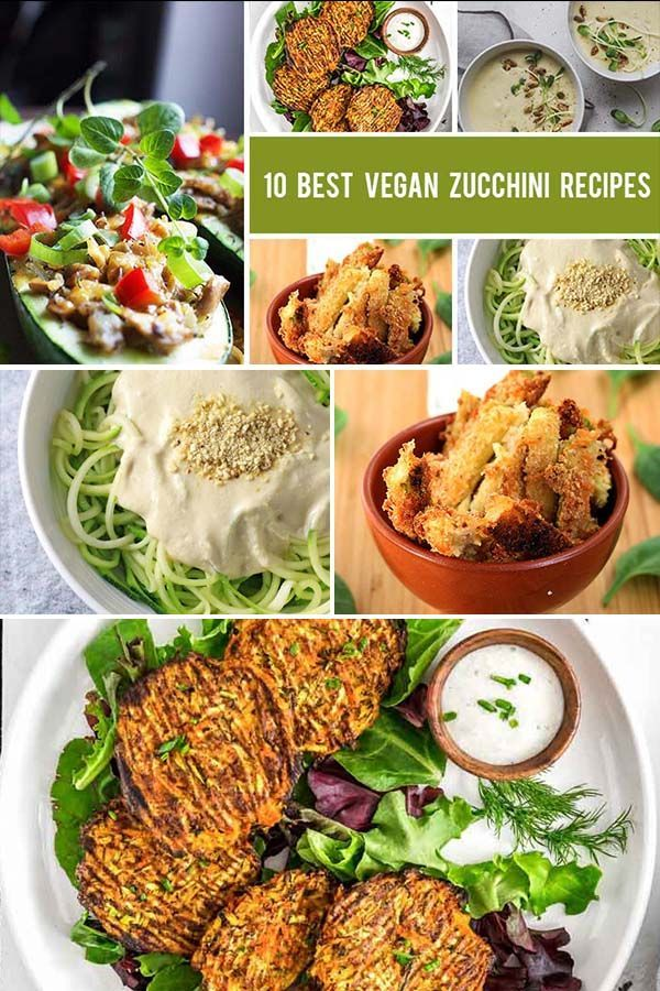 Zucchini Recipes Appetizers 10 Best Vegan Zucchini Recipes