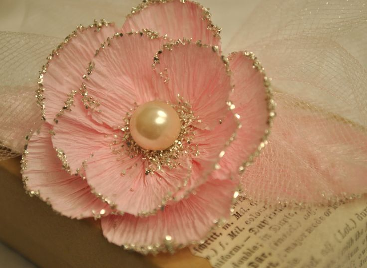 170 best flowers images on pinterest fabric flowers craft flowers crepe paper flower mightylinksfo Choice Image