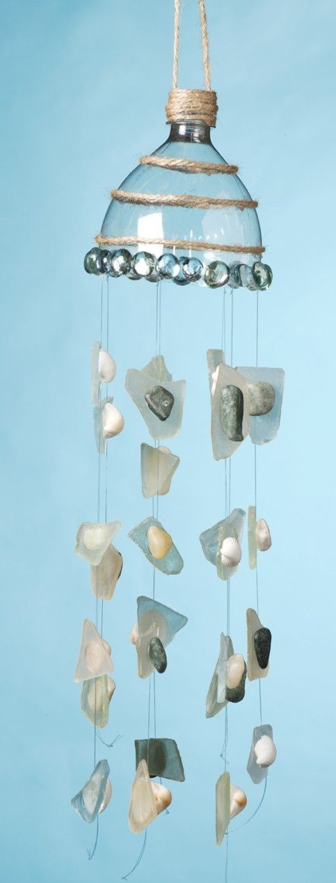 Windchime made from plastic bottle   #reuse #repurpose #plastic