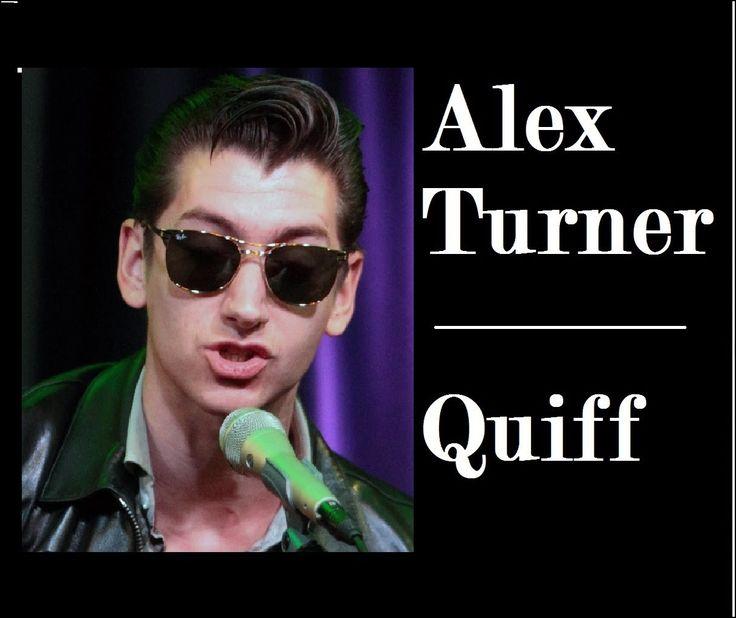 Alex Turner Haircut