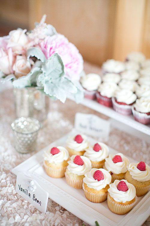 Classic St. Louis Wedding, Cupcake Display | Brides.com