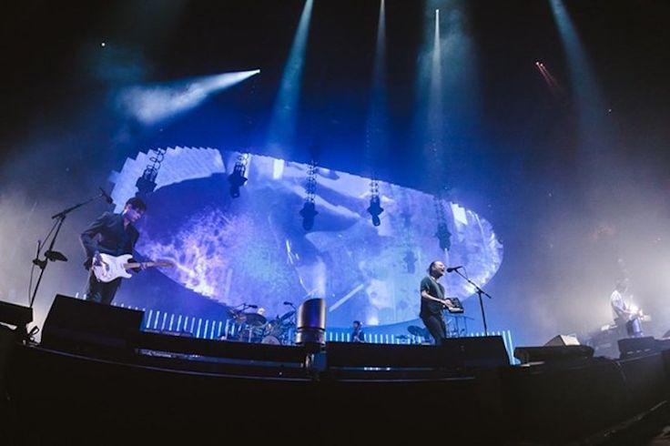 Universal Pixels es el nombre de la nueva gira de Radiohead que trae una serie de proyecciones realizadas en los equipos Epson.