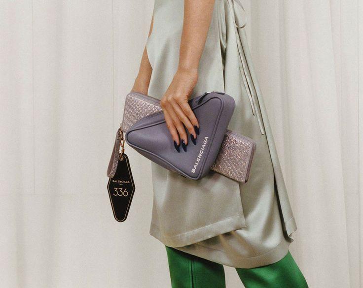 Balenciaga Finally Unveils Its Pre-Fall 2017 Bags, Which are Basically All Triangular