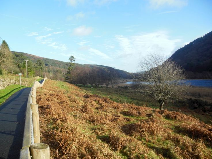 Lower Lake Wicklow Mountains Green Road Walk