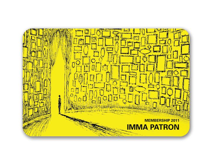 art museum membership cards IMMAu0027s 2011 LIMITED EDITION - printable membership cards
