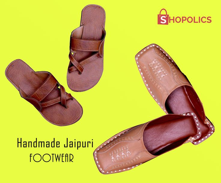 For #short length #men there are very less options in leather #Juties but here we provide a diverse range for them. #Handmade#dark #brown #footwears are one among those. The fine #leather makes them comfortable to wear on all #occasions. Shop now:  https://goo.gl/rR5lGE