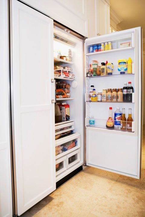 According to the National Association of Home Builders (NAHB), refrigerators can last up to 13 years, while freezers have a lifespan of 11 to 12. To get the most out of your fridge, Rick Muscoplat of The Family Handyman Magazine advises dusting off the compressor coils—usually in the back or bottom—every six months. Skip doing this, and the coils won't effectively remove heat from inside, which causes the appliance's compressor to run longer and hotter—and fail faster. Another part to