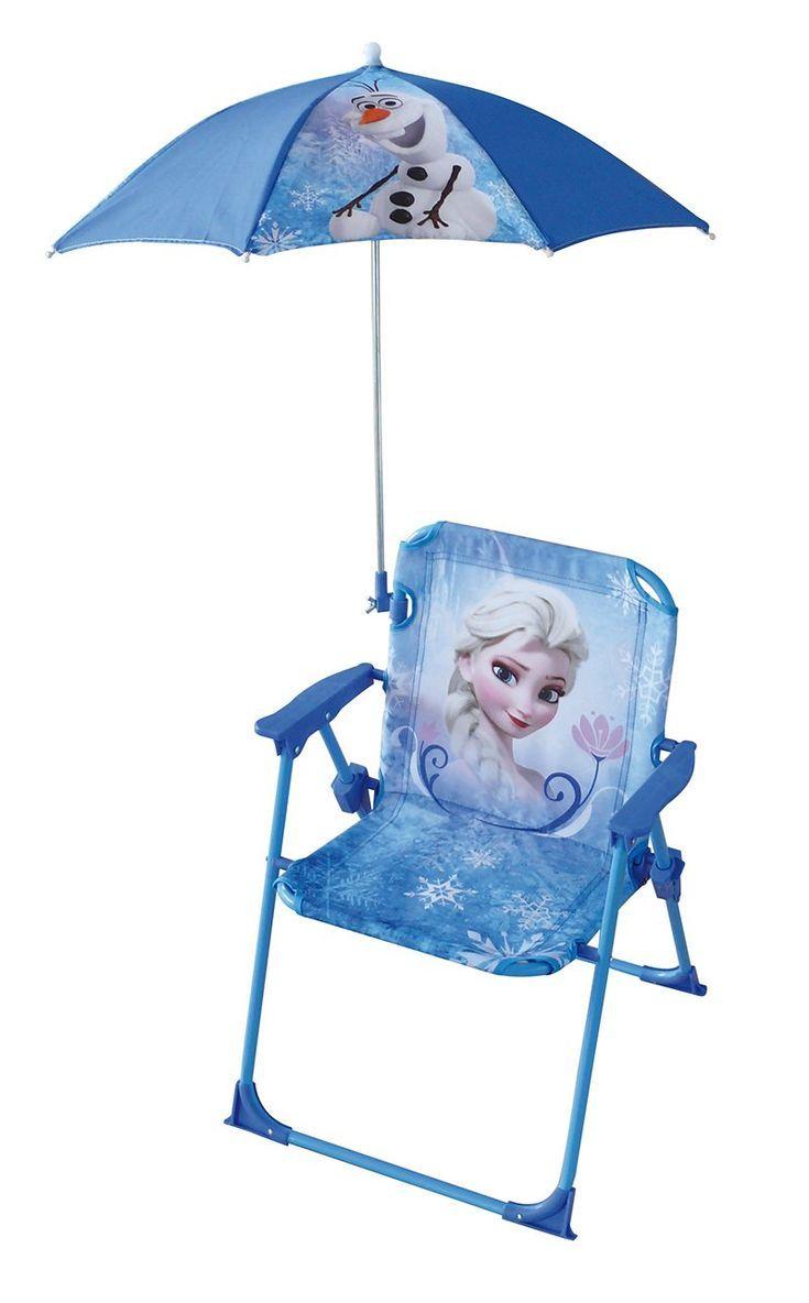 Fun House Eiskonigin Stuhl Mit Sonnenschirm In 2020 Blaue Kinderzimmer Kinder Lampen Spielzeug Draussen