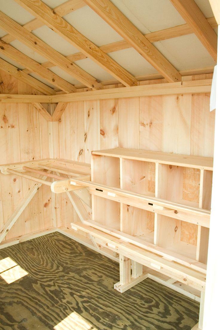 Inside a coop