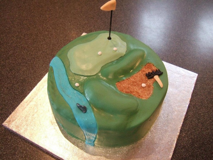 Best 25 Golf Course Cake Ideas On Pinterest Golf Party