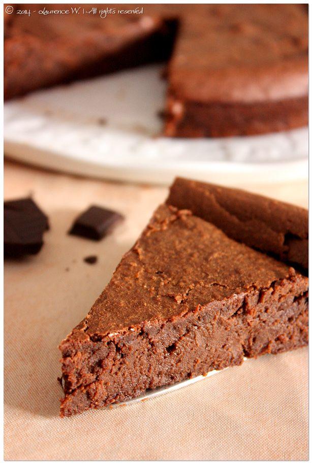 Fondant au chocolat et à la crème de marrons